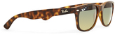 Ray-Ban Polarized Wayfarer Sunglasses Large RB2132 Tortoise Shell