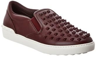 Valentino Rockstud Slip-On Sneaker