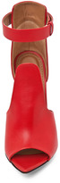 Givenchy Podium Ankle Strap Sandal in Nappa Red