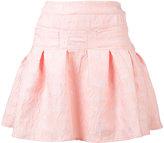 Giamba jacquard pleated skirt - women - Polyester/Polyamide - 40