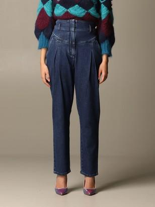 Alberta Ferretti Jeans High-waisted Carrot Jeans