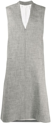 Peter Do Sleeveless Midi Dress