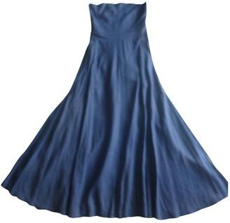 Non Signã© / Unsigned Hippie Chic Blue Linen Dresses