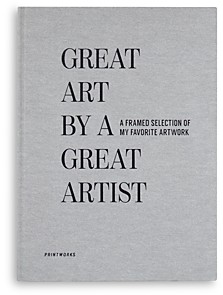 PRINTWORKS Great Art by a Great Artist Archive Book
