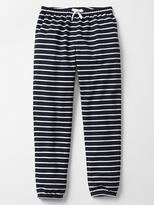 Stripe tie PJ pants