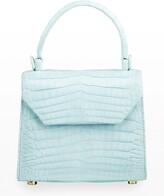 Thumbnail for your product : Nancy Gonzalez Crocodile Small Flap Top-Handle Crossbody Bag