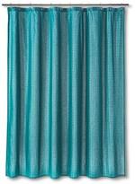 Threshold Stripe Shower Curtain Trout Stream
