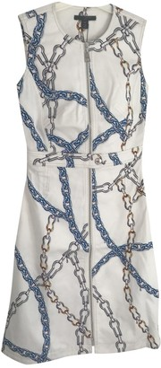 Louis Vuitton White Cotton Dresses