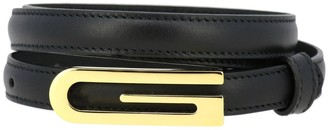 Gucci Leather Belt With Maxi Logo