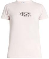 Bella Freud Her cotton-jersey T-shirt