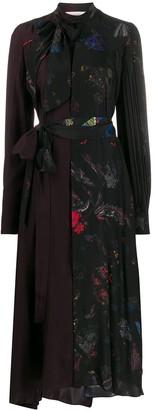 A.F.Vandevorst contrast shirt dress