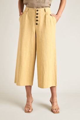 Seed Heritage Button Fly Crop Pant
