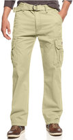 UNIONBAY Men's Survivor Belted Cargo Pants