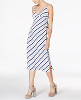 MinkPink Road Trip Tie-Back Midi Dress