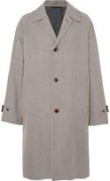 Camoshita - Oversized Houndstooth Wool Coat