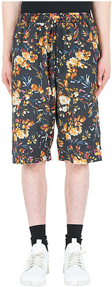 McQ Swallow Floral Print Shorts