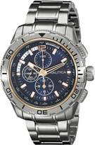Nautica Men's NAD24500G NST 101 Analog Display Japanese Quartz Watch