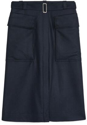Arket Wool Cashmere Skirt