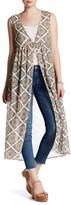 Soprano Printed Lace Vest