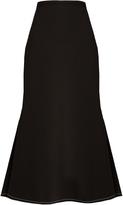 Ellery Beedee fluted crepe midi skirt