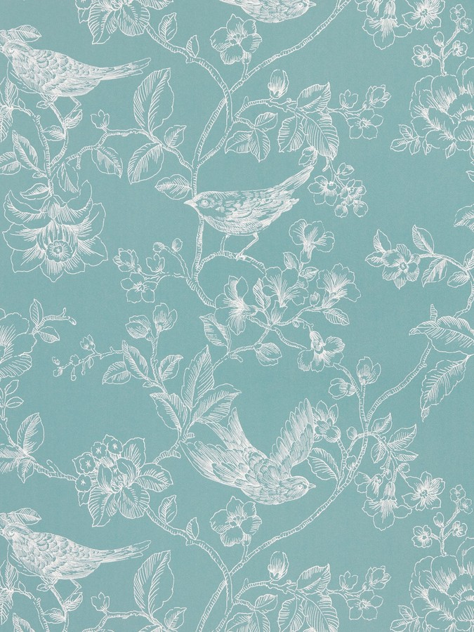 John Lewis & Partners Nightingales Wallpaper