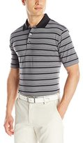PGA TOUR Men's Performance Golf Striped Polo Shirt