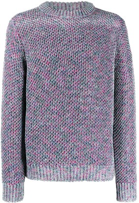 Acne Studios Honeycomb Pattern Knitted Jumper