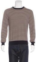 Gucci Striped Crew Neck Sweater