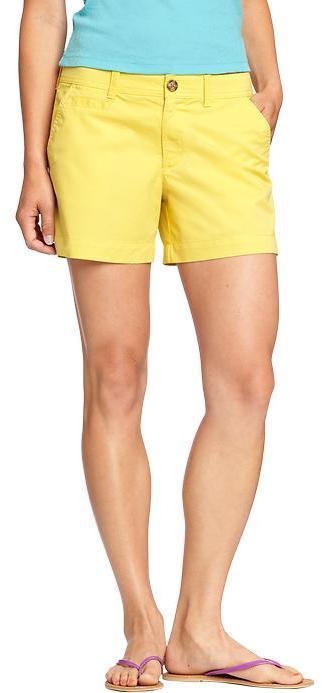 "Old Navy Women's Perfect Khaki Shorts (5"")"