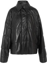 Haider Ackermann Oversized Quilted Leather Jacket - Black