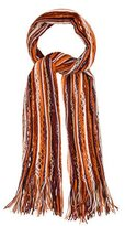 Missoni Striped Open Knit Scarf
