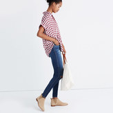 Madewell Central Shirt in Gingham Check
