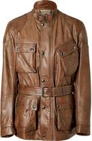 Belstaff Cognac Leather Panther Jacket