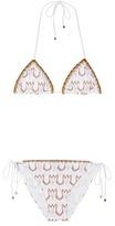 Missoni Mare Metallic triangle bikini