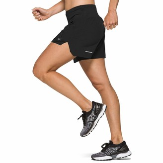 Asics Road 5.5 Inch Women's Shorts - SS21 - Small Black