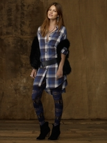Denim & Supply Plaid Shirtdress