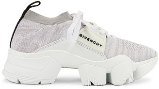 Givenchy Jaw Low Sock Sneakers in White | FWRD