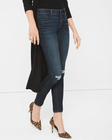White House Black Market Destructed Skimmer Jeans