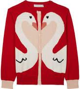 Stella McCartney Lauren knitted cotton-wool cardigan 4-16 years