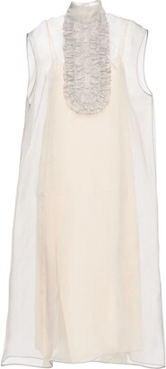 Prada Sleeveless Organza Dress
