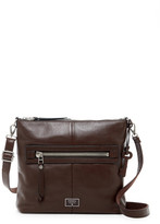 Fossil Dawson Leather Top Zip Crossbody