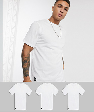 NATIVE YOUTH oversized 3 pack t-shirt