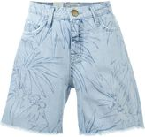 Current/Elliott 'The slouchy cut off' denim shorts - women - Cotton/Lyocell - 27