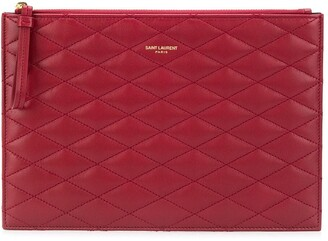 Saint Laurent Sade quilted clutch