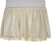 Juicy Couture Gold mesh cotton skirt 4-14 years