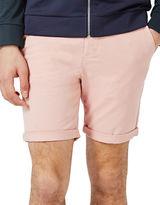 Topman Owen Stretch Skinny Chino Shorts