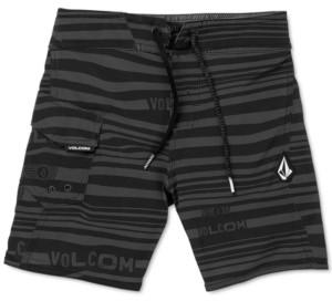 Volcom Toddler & Little Boys Logo-Stripe Mod-Tech Boardshorts