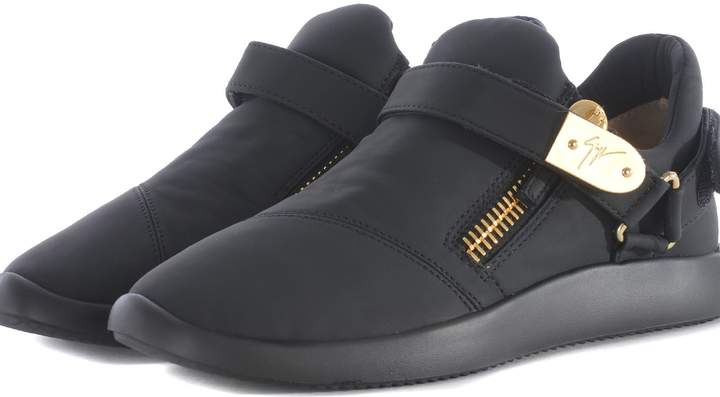 Giuseppe Zanotti Rubberized Slip-on Sneakers