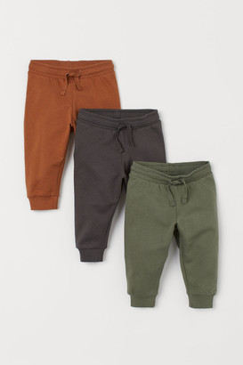 H&M 3-Pack Sweatpants