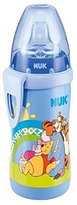 NUK Disney Winnie The Pooh Active Cup, 300ml (12m+) Blue - Pack of 4